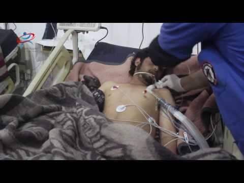 تقرير عن الهجوم بالكلور على مدينة اللطامنة يوم الخميس 30 آذار 2017