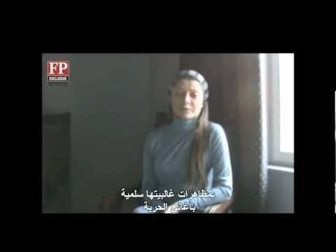 رسالة مصورة من رزان زيتونة