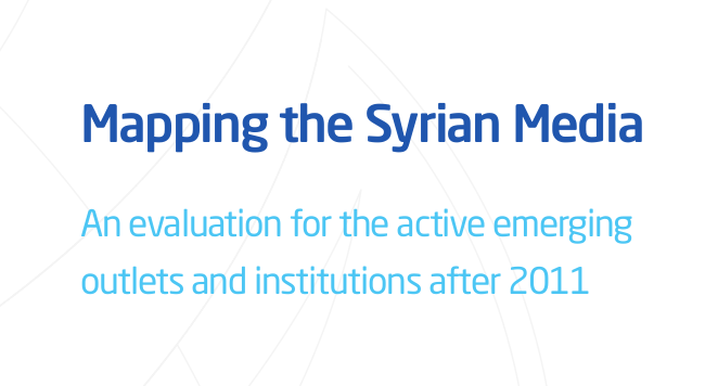 SCM Mapping The Syrian Media