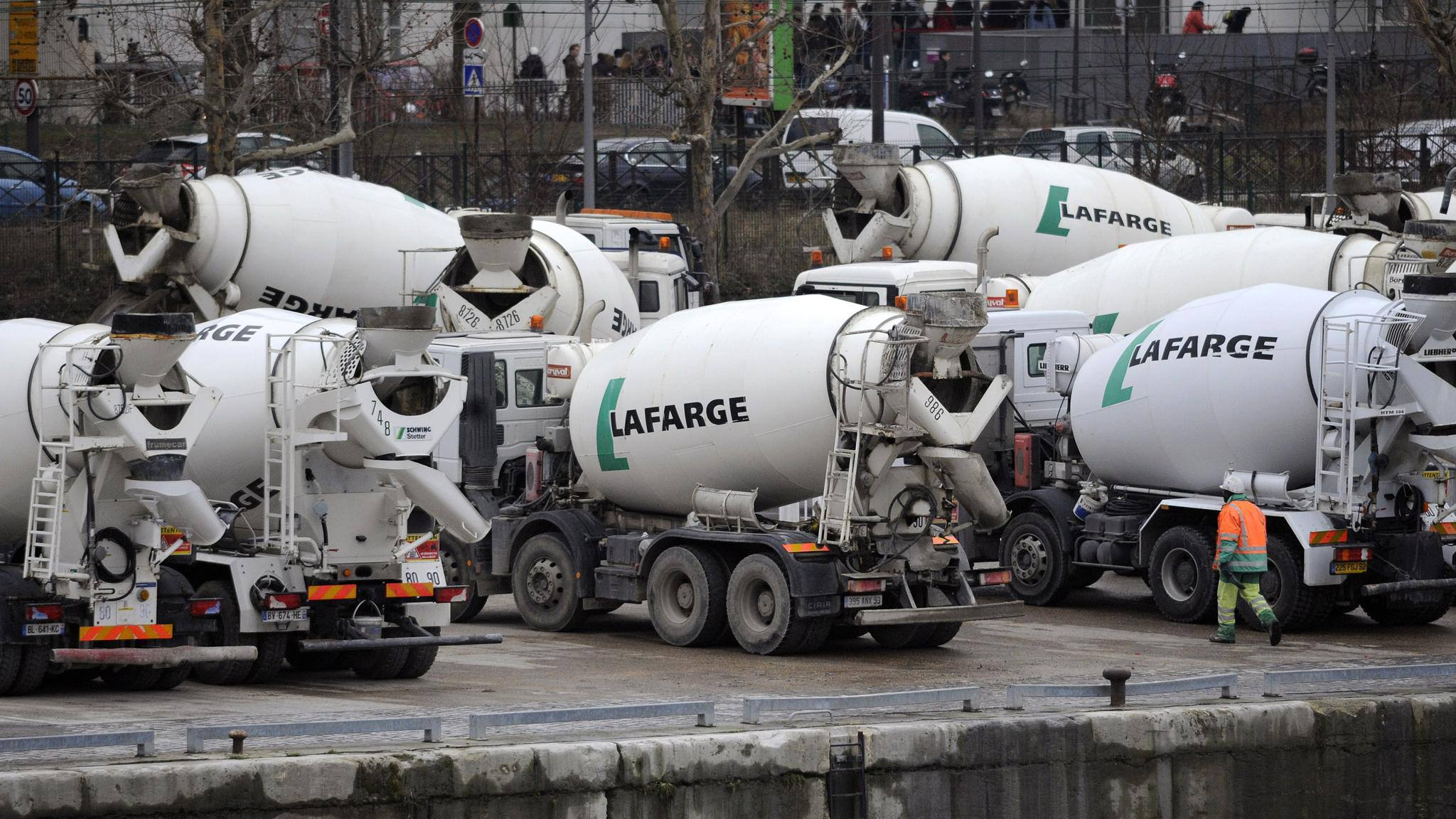 Lafarge SA Results News Conference