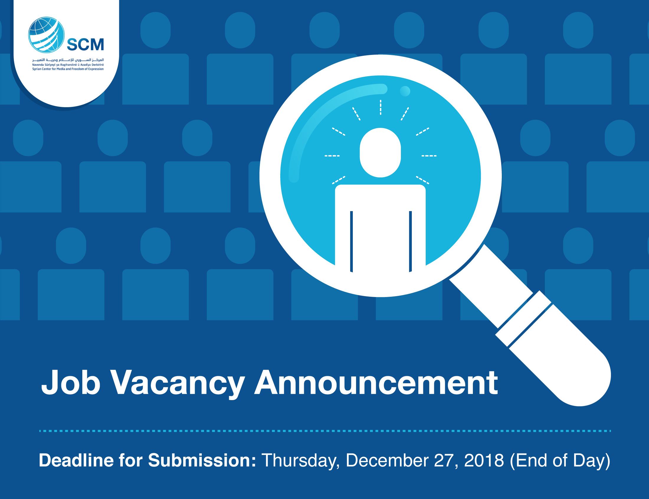 Job Vacancy EN