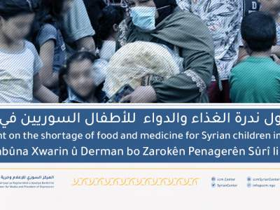 Statement On The Shortage Of Food And Medicine For Syrian Children In Lebanon