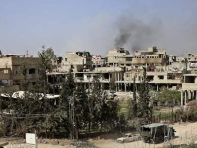 Syrie Ghouta Hammouriyeh 2018