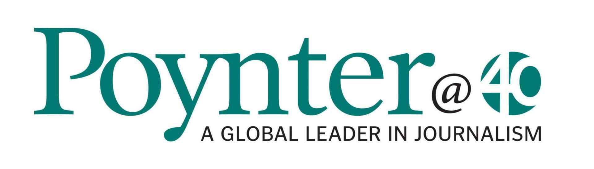 Poynter 40th Anniversary Logo